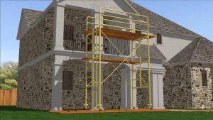 erecting scaffolding yourself